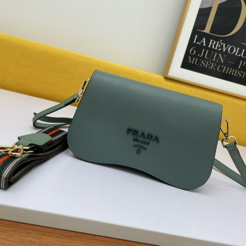 Prada AAA Quality Messeger Bags For Women #877863 $98.00 USD, Wholesale Replica Prada AAA Quality Messeger Bags