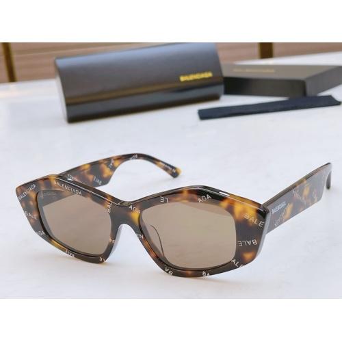 Balenciaga AAA Quality Sunglasses #877893