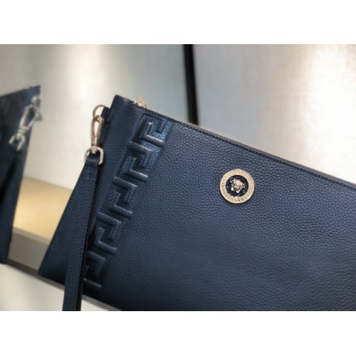 Replica Versace AAA Man Wallets #877918 $72.00 USD for Wholesale