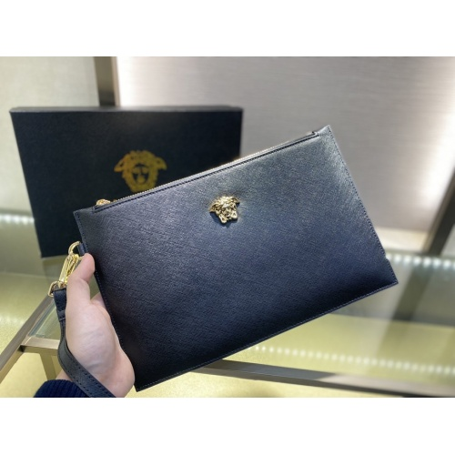 Versace AAA Man Wallets #877919 $72.00 USD, Wholesale Replica Versace AAA Man Wallets