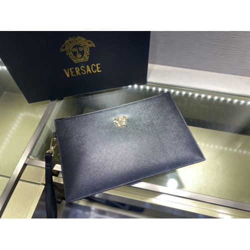 Replica Versace AAA Man Wallets #877919 $72.00 USD for Wholesale