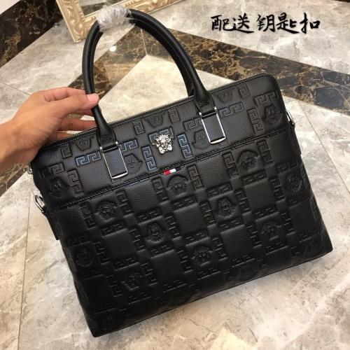 Versace AAA Man Handbags #877974 $118.00 USD, Wholesale Replica Versace AAA Man Handbags