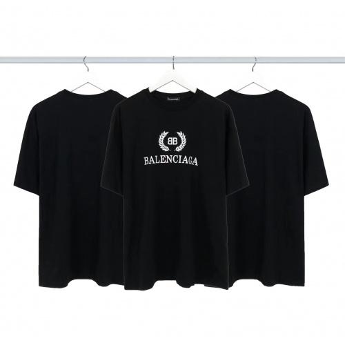 Balenciaga T-Shirts Short Sleeved For Men #877983