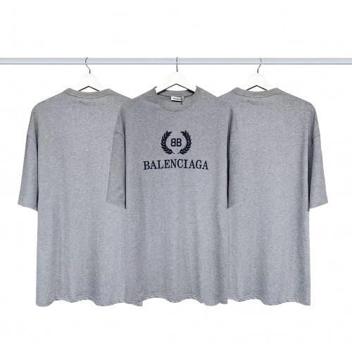 Balenciaga T-Shirts Short Sleeved For Men #877986
