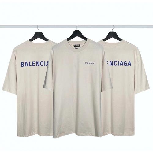 Balenciaga T-Shirts Short Sleeved For Men #877993