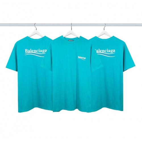 Balenciaga T-Shirts Short Sleeved For Men #877997
