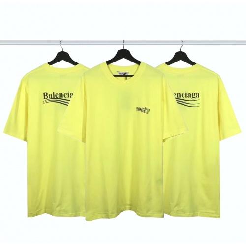Balenciaga T-Shirts Short Sleeved For Men #877999