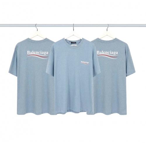 Balenciaga T-Shirts Short Sleeved For Men #878000