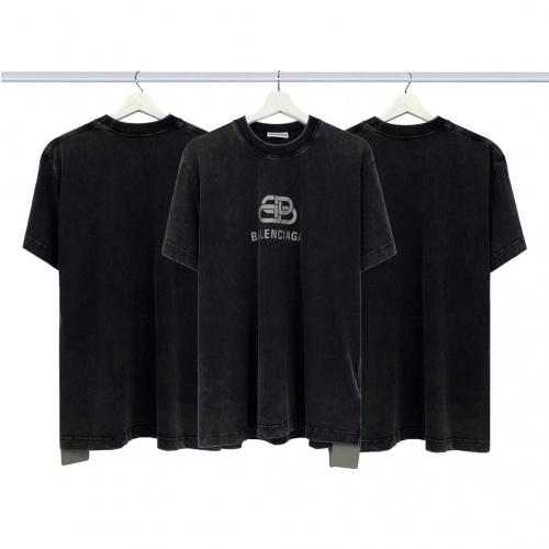 Balenciaga T-Shirts Short Sleeved For Men #878002