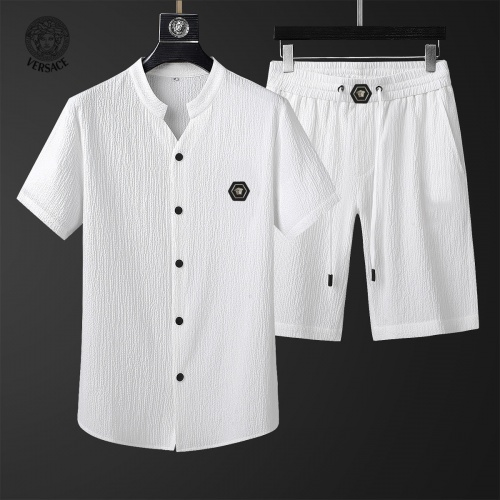 Versace Tracksuits Short Sleeved For Men #878010 $68.00 USD, Wholesale Replica Versace Tracksuits