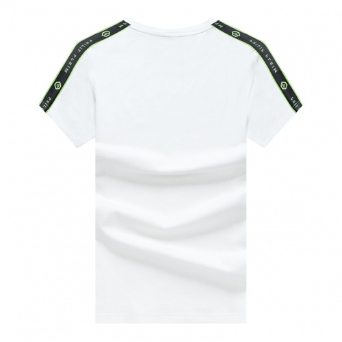 Replica Philipp Plein PP T-Shirts Short Sleeved For Men #878022 $25.00 USD for Wholesale