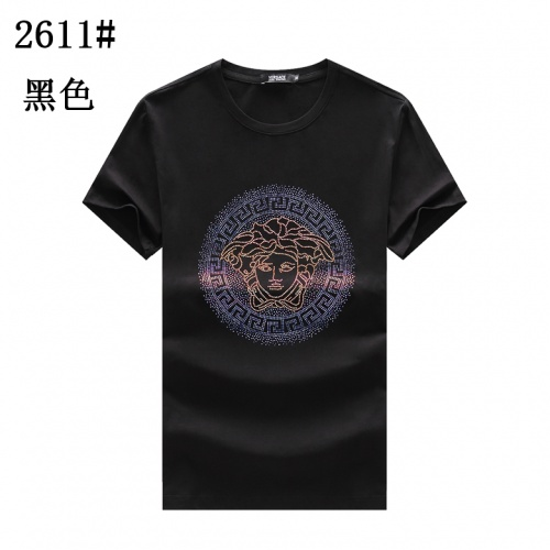 Versace T-Shirts Short Sleeved For Men #878024 $25.00 USD, Wholesale Replica Versace T-Shirts