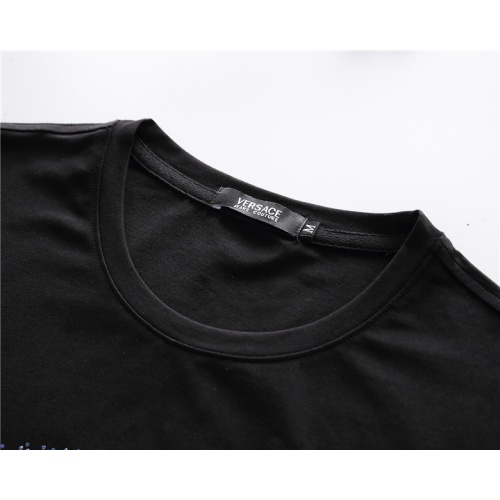 Replica Versace T-Shirts Short Sleeved For Men #878024 $25.00 USD for Wholesale
