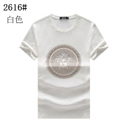 Versace T-Shirts Short Sleeved For Men #878032 $25.00 USD, Wholesale Replica Versace T-Shirts