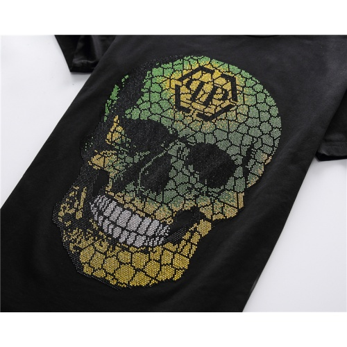 Replica Philipp Plein PP T-Shirts Short Sleeved For Men #878034 $25.00 USD for Wholesale