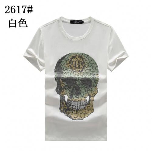 Philipp Plein PP T-Shirts Short Sleeved For Men #878035 $25.00 USD, Wholesale Replica Philipp Plein PP T-Shirts