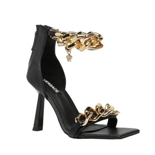 Replica Versace High-Heeled Shoes For Women #878229 $82.00 USD for Wholesale