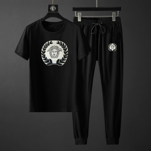 Versace Tracksuits Short Sleeved For Men #878364 $64.00 USD, Wholesale Replica Versace Tracksuits