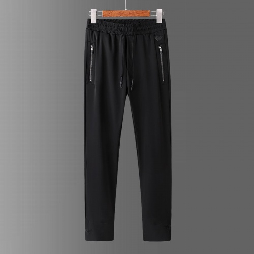 Replica Armani Tracksuits Short Sleeved For Men #878366 $64.00 USD for Wholesale
