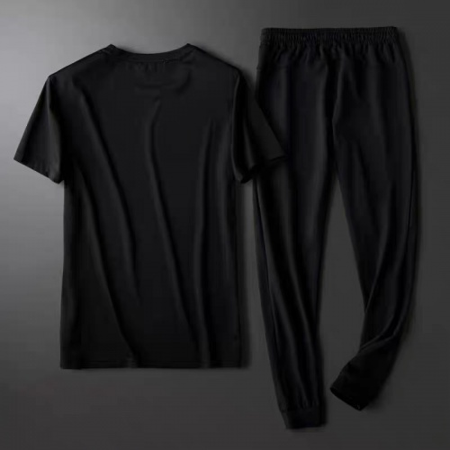 Replica Burberry Tracksuits Short Sleeved For Men #878370 $64.00 USD for Wholesale