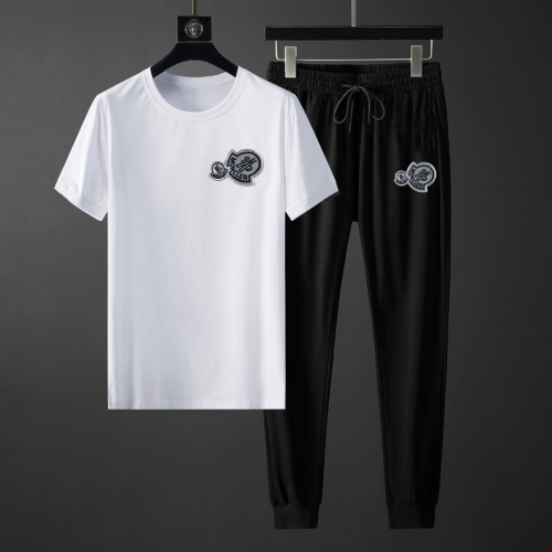 Moncler Tracksuits Short Sleeved For Men #878382 $64.00 USD, Wholesale Replica Moncler Tracksuits
