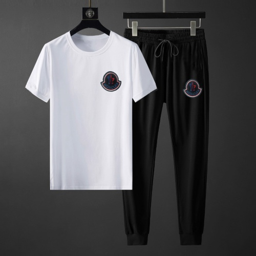 Moncler Tracksuits Short Sleeved For Men #878384 $64.00 USD, Wholesale Replica Moncler Tracksuits