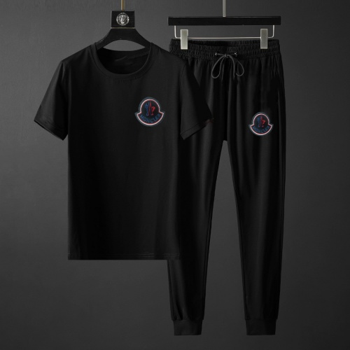 Moncler Tracksuits Short Sleeved For Men #878385 $64.00 USD, Wholesale Replica Moncler Tracksuits