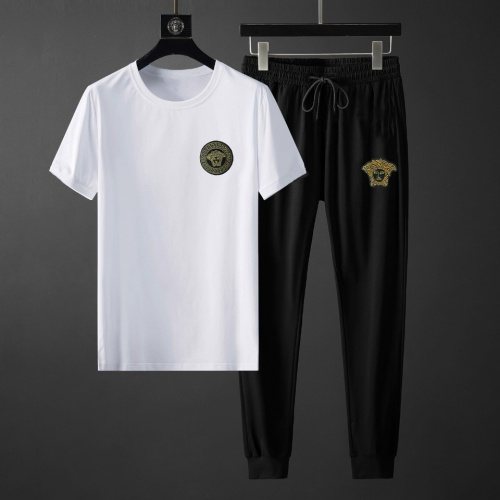 Versace Tracksuits Short Sleeved For Men #878386 $64.00 USD, Wholesale Replica Versace Tracksuits