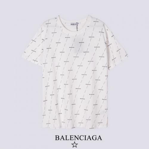 Balenciaga T-Shirts Short Sleeved For Men #878418 $27.00 USD, Wholesale Replica Balenciaga T-Shirts