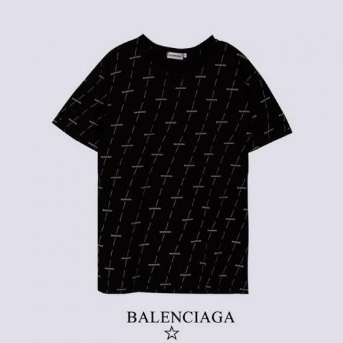Balenciaga T-Shirts Short Sleeved For Men #878419 $27.00 USD, Wholesale Replica Balenciaga T-Shirts