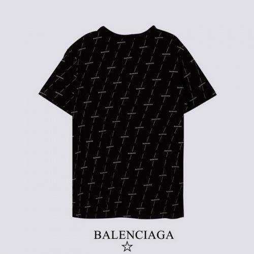 Replica Balenciaga T-Shirts Short Sleeved For Men #878419 $27.00 USD for Wholesale