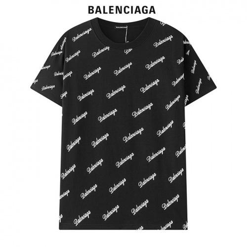 Balenciaga T-Shirts Short Sleeved For Men #878420 $29.00 USD, Wholesale Replica Balenciaga T-Shirts