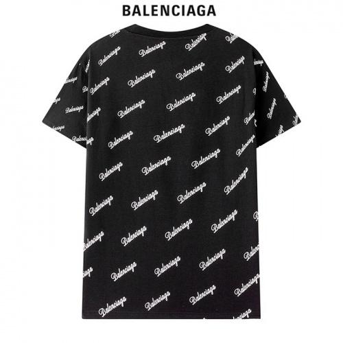 Replica Balenciaga T-Shirts Short Sleeved For Men #878420 $29.00 USD for Wholesale