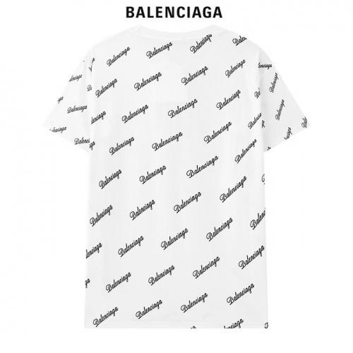 Replica Balenciaga T-Shirts Short Sleeved For Men #878421 $29.00 USD for Wholesale