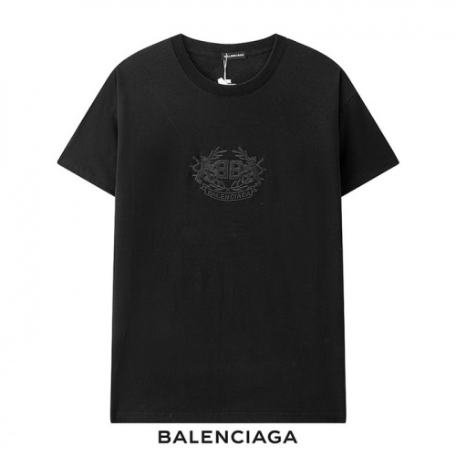 Balenciaga T-Shirts Short Sleeved For Men #878422