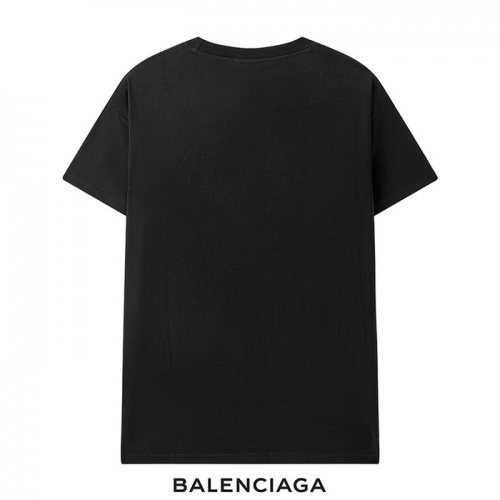 Replica Balenciaga T-Shirts Short Sleeved For Men #878422 $29.00 USD for Wholesale