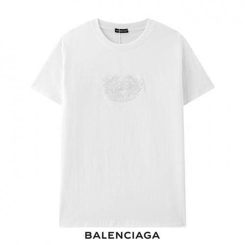 Balenciaga T-Shirts Short Sleeved For Men #878423 $29.00 USD, Wholesale Replica Balenciaga T-Shirts
