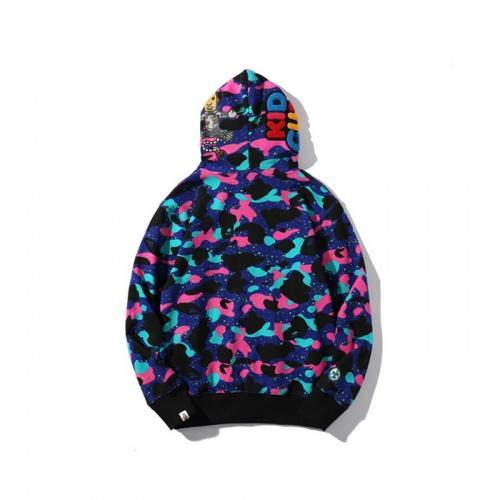 Replica Bape Hoodies Long Sleeved For Men #878431 $48.00 USD for Wholesale