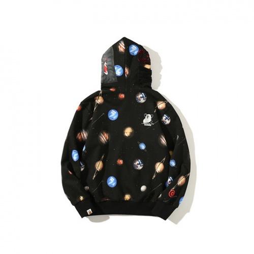 Replica Bape Hoodies Long Sleeved For Men #878432 $48.00 USD for Wholesale