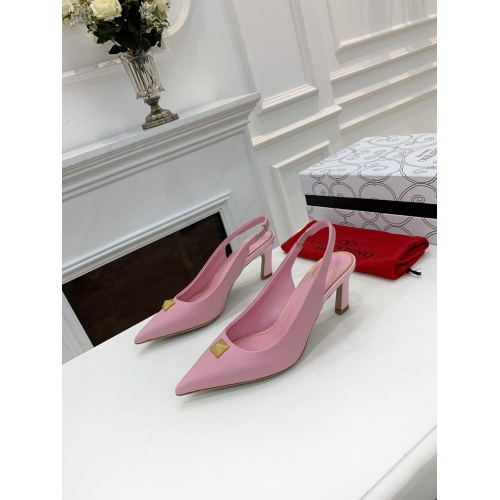 Valentino High-Heeled Shoes For Women #878461 $82.00 USD, Wholesale Replica Valentino High-Heeled Shoes