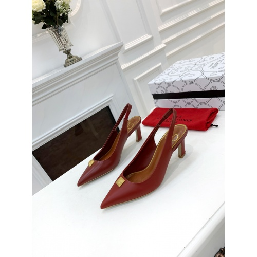 Valentino High-Heeled Shoes For Women #878462 $82.00 USD, Wholesale Replica Valentino High-Heeled Shoes