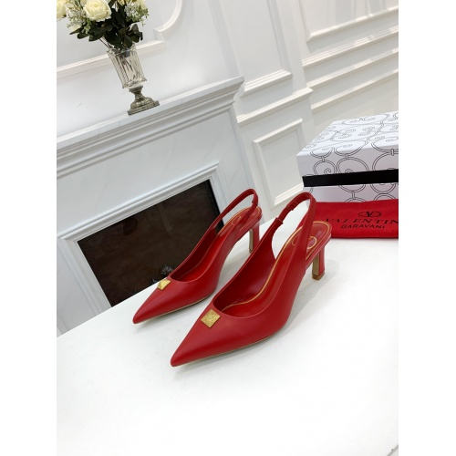 Valentino High-Heeled Shoes For Women #878464 $82.00 USD, Wholesale Replica Valentino High-Heeled Shoes