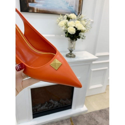 Replica Valentino High-Heeled Shoes For Women #878465 $82.00 USD for Wholesale
