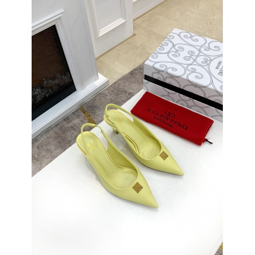 Replica Valentino High-Heeled Shoes For Women #878466 $82.00 USD for Wholesale