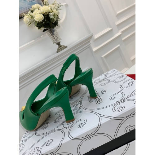 Replica Valentino High-Heeled Shoes For Women #878467 $82.00 USD for Wholesale