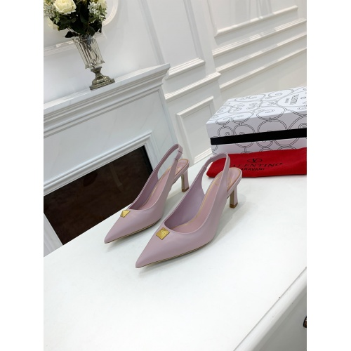 Valentino High-Heeled Shoes For Women #878470 $82.00 USD, Wholesale Replica Valentino High-Heeled Shoes