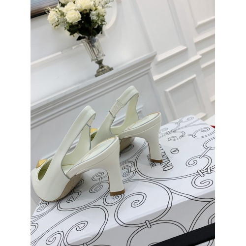 Replica Valentino High-Heeled Shoes For Women #878474 $82.00 USD for Wholesale