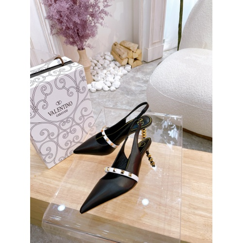 Valentino High-Heeled Shoes For Women #878475 $82.00 USD, Wholesale Replica Valentino High-Heeled Shoes