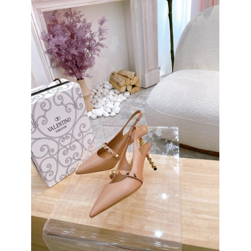 Valentino High-Heeled Shoes For Women #878478 $82.00 USD, Wholesale Replica Valentino High-Heeled Shoes