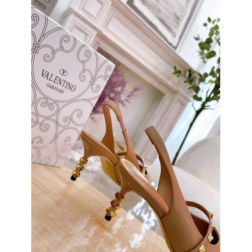 Replica Valentino High-Heeled Shoes For Women #878478 $82.00 USD for Wholesale